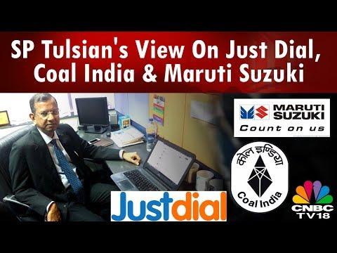 SP Tulsian's View On Just Dial, Coal India & Maruti Suzuki   CNBC-TV18