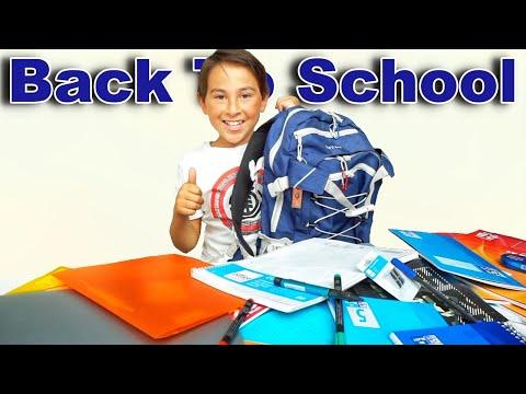 Back To School   Sommerferien   Schul Haul   Johann Loop
