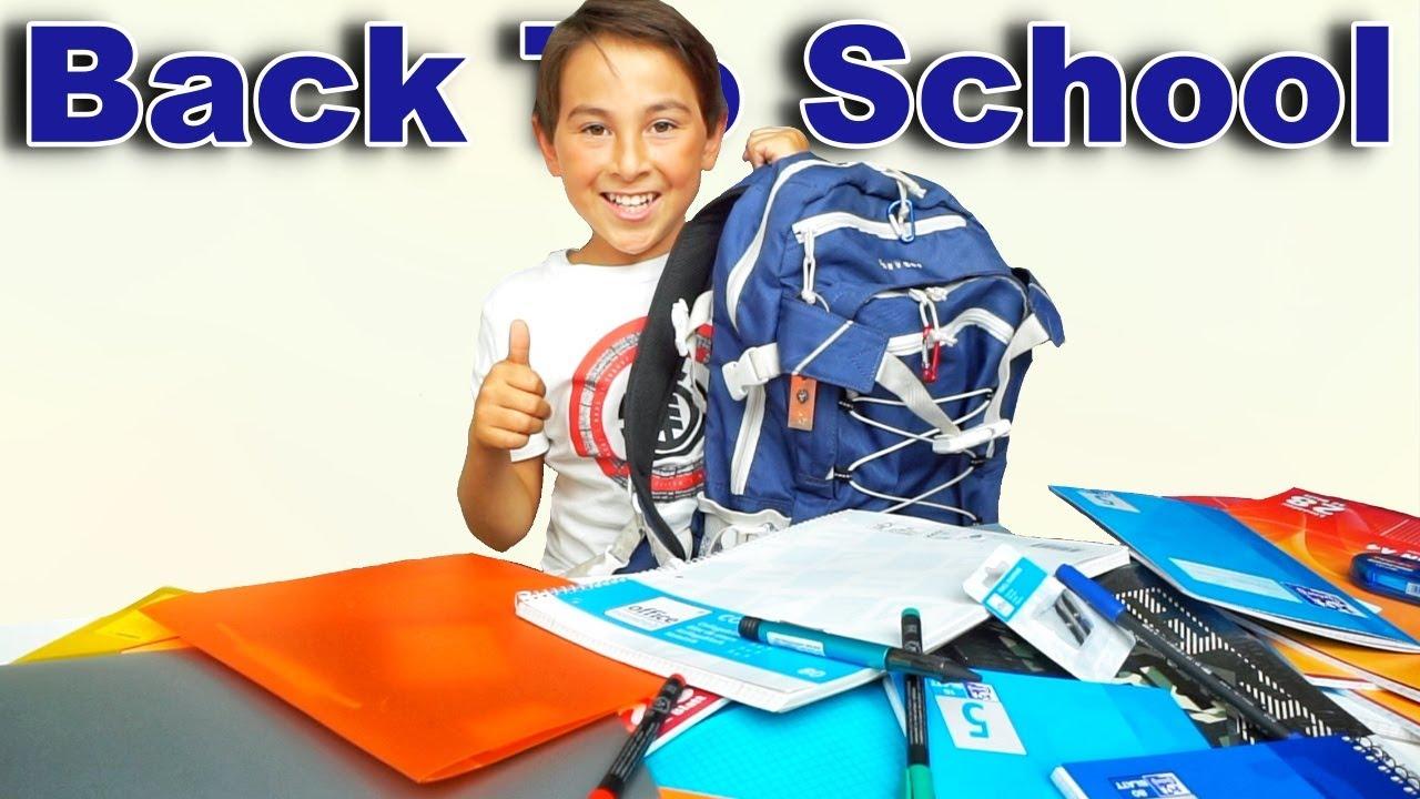 Back To School | Sommerferien | Schul Haul | Johann Loop