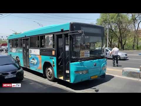 Տեսանյութ.Ոստիկանները Մաշտոցի պողոտայից հեռացնում են ավտոբուսները, որոնցով Ծառուկյանի աջակիցները փակել են ճանապարհը