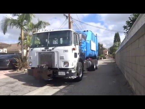 Trucks On Street Again