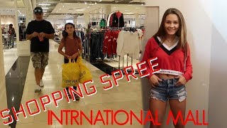 SHOPPING SPREE AT THE INTERNATIONAL MALL! SHOPPING HAUL!