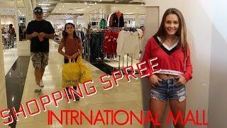 SHOPPING SPREE AT THE INTERNATIONAL MALL! SHOPPING HAUL!