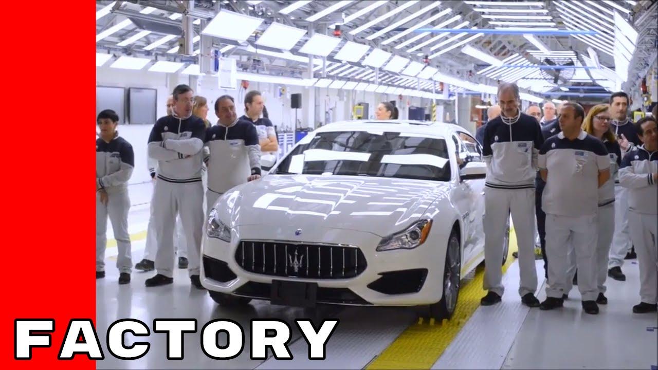 Maserati Factory Production embly Plant - YouTube