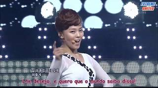 Wonder Girls (원더걸스) - Be My Baby [Live Legendado - ExUnited]