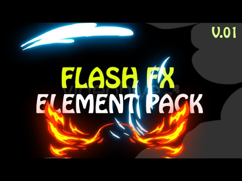 Flash Fx Element Pack V01 | After Effects project