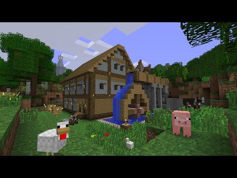 Майнкрафт строим дом с другом