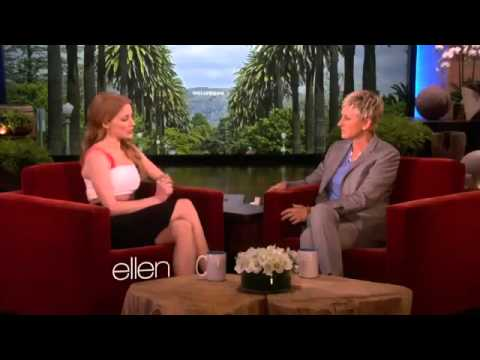 Jessica Chastain and Ellen Rock the Shades2492