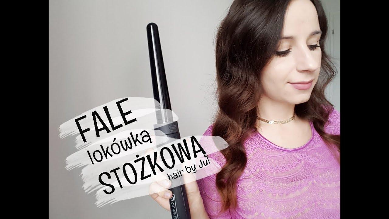 Idealne Fale Lokówka Stożkowa Hair By Jul Youtube