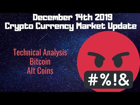 December 14th Bitcoin Cryptocurrency Alt Coin Market Update