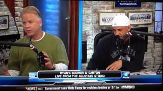 Boomer and Carton discuss fake twitter accounts