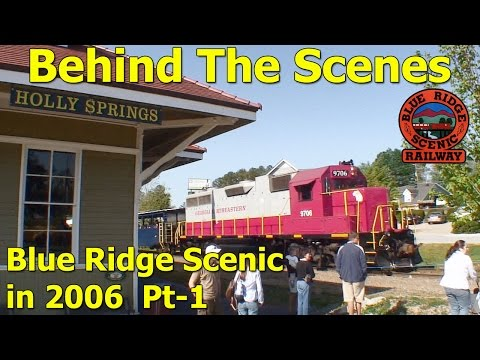 Blue Ridge Scenic Railway pt-1 HD