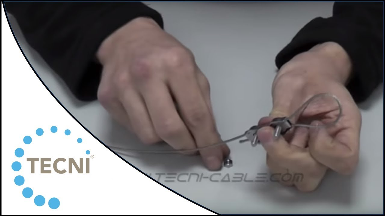 Duplex and Simplex Wire Rope Grips Demonstration from TECNI®Cable ...