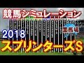 スプリンターズステークス 2018 重馬場 競馬予想シミュレーション by StarHorseP…