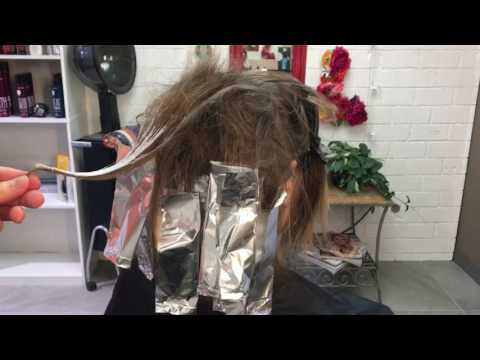 Quick and Easy Balayage Hair Tutorial