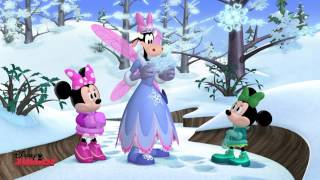 Minnie's Winter Bow-Show - Giant Snowflakes! - Disney Junior UK HD