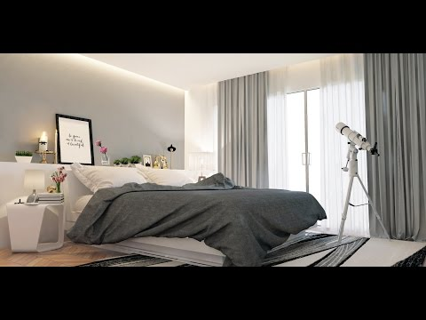 How To Create Bedroom In 3ds Max Vray Modeling Vray Lighting Vray Render Settings ..