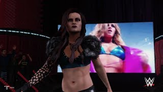 WWE 2K19 - Maria Kanellis VS Eva Marie