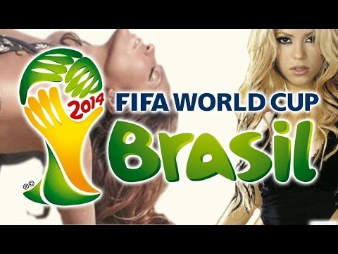 FIFA World Cup Megamix 2014 - Santana, Shakira, Chawki, JLo, Ricky Martin, Pitbull