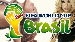 Repeat youtube video FIFA World Cup Megamix 2014 - Santana, Shakira, Chawki, JLo, Ricky Martin, Pitbull