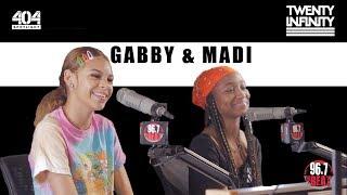 "Gabby & Madi Talk Crying After Meeting Zendaya, the ""Real"" Miss Mulatto, Music & More!"