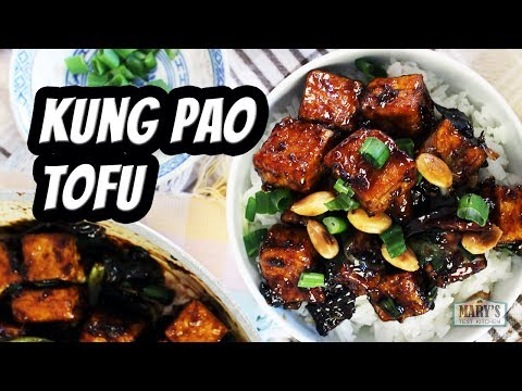Vegan Kung Pao Tofu  Recipe by Mary's Test Kitchen