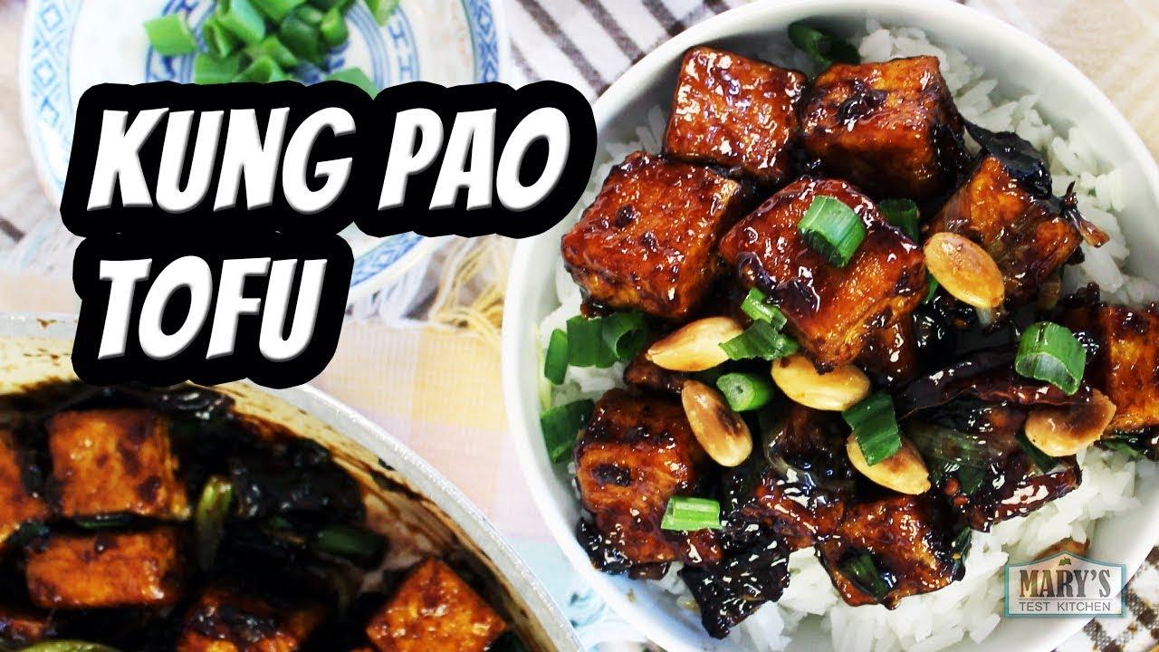 Vegan Kung Pao Tofu | Recipe by Mary's Test Kitchen