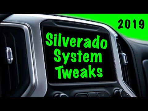 2019-2020 CHEVROLET SILVERADO SYSTEM SETTINGS TO TWEAK: Personalize Your Silverado