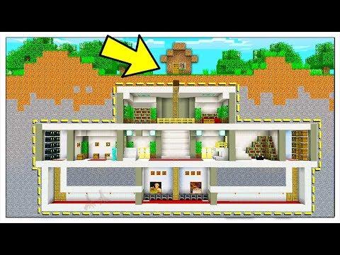 QUANTE COSE PUOI NASCONDERE IN UNA CASA DI TERRA? - Minecraft ITA