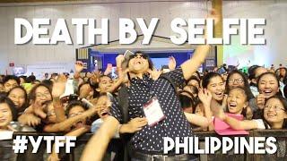 Death By Selfie (Philippines Youtube Fanfest + Aj Rafael, Alex Wassabi, Lloyd Cadena, Janina Vela)