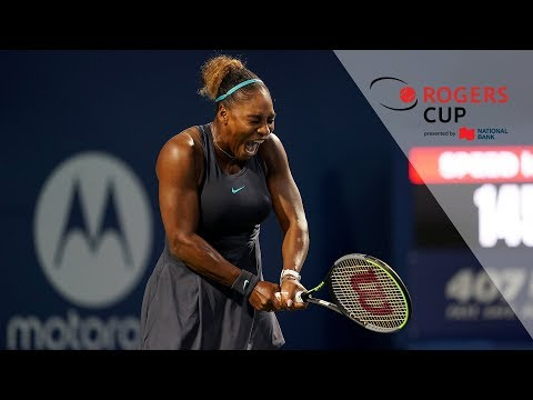 Highlights: Rogers Cup 2019 Thursday Night - Serena, Halep Advance In Toronto
