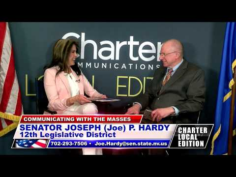 Senator Joseph (Joe) P. Hardy 02 - Dist. 12 - CARSON CITY APRIL 2017