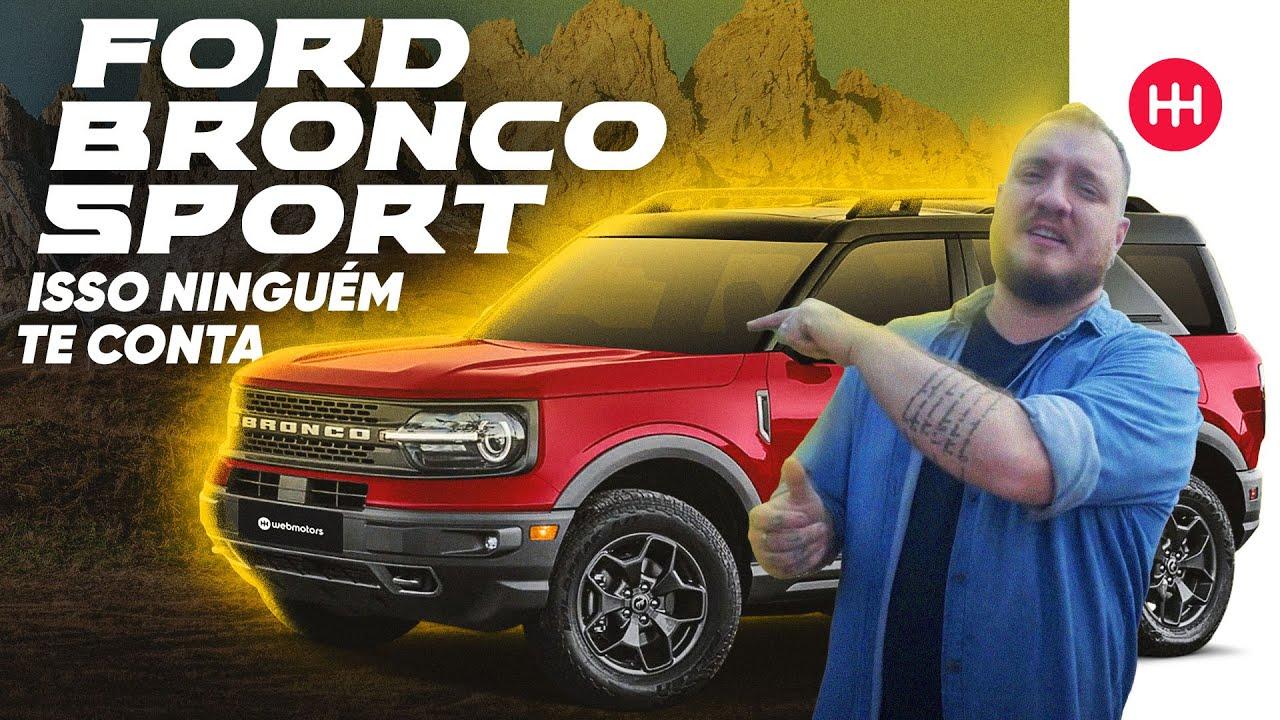 PRIMEIRAS IMPRESSÕES ? 2022 Ford BRONCO SPORT [Avaliação COMPLETA]