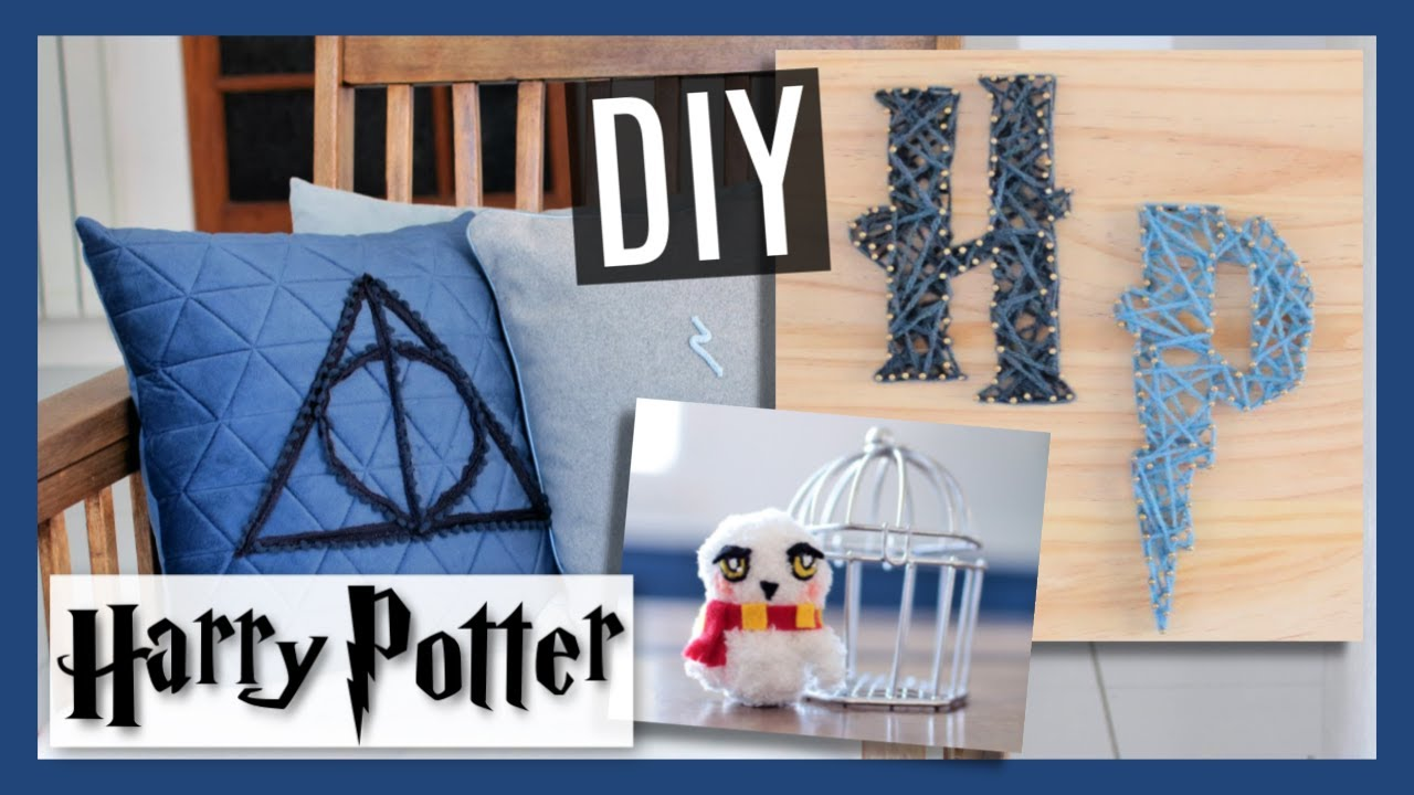 DIY HARRY POTTER Room Decor #20 : Deco Chambre Facile (français)