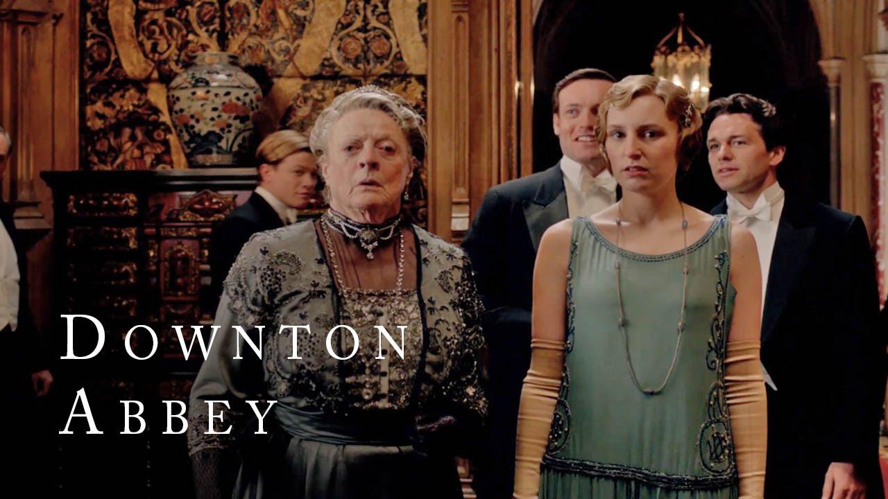 Jazz Comes to Downton | Downton Abbey | Season 4 - YouTube