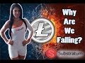 Why Is Litecoin Falling?????? Ill Tell You... (Substratum Analysis)