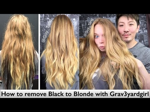 How to remove Black to Blonde with Grav3yardgirl