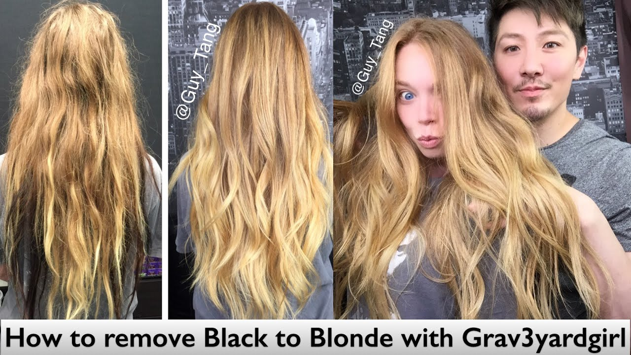 How To Remove Blonde Hair Dye Naturally  Best Hair Color 2017