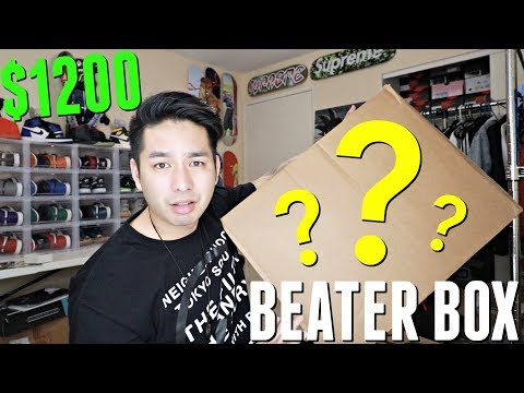 Unboxing A $1200 Sole Supremacy Beater Box | The Last Beater Box
