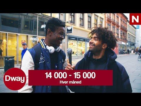#Dway | Omid p gata: Hvor mye bruker du p sminke? | TVNorge