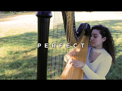 """Perfect"" by Ed Sheeran | Harp Cover (Wedding)"