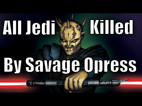 All Jedi killed by Savage Opress