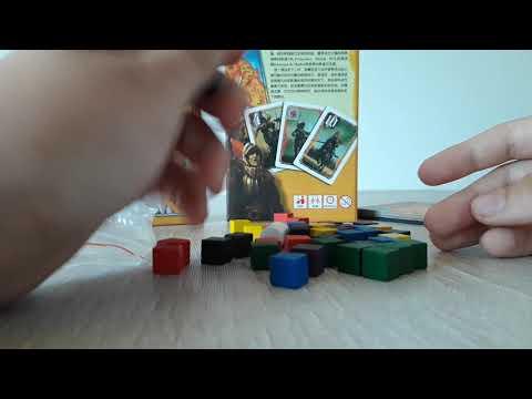 Обзор распаковка китайской копии настольной игры кондотьер