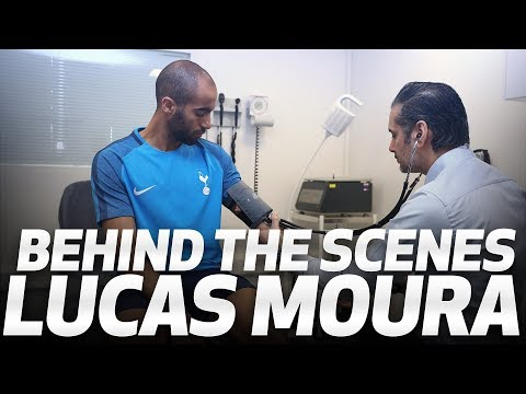BEHIND THE SCENES | LUCAS MOURA SIGNS FOR SPURS