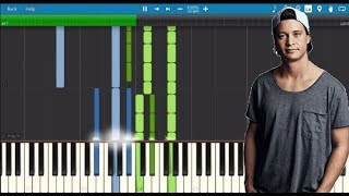 KYGO - PIANO JAM 3 PIANO TUTORIAL / FREE MIDI BY MMP