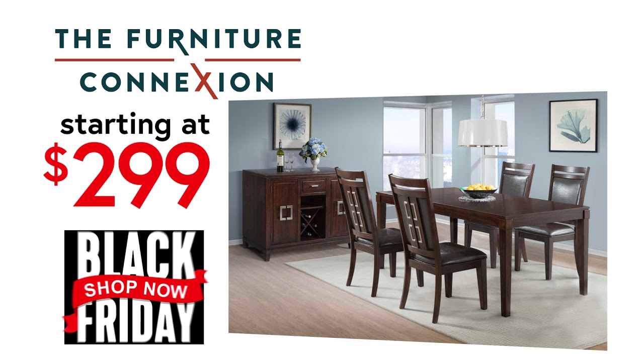 Black Friday Deals Have Started At Furniture Connexion!