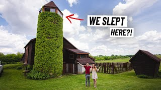Full Tour of Our Farm Silo TINY HOUSE! + One Day Guide to Madison, WI 😍