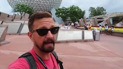 Rainy Day Fun At Disney World's Epcot! | Ride POVs, Merch & What The Florida Summer Weather Is Like!