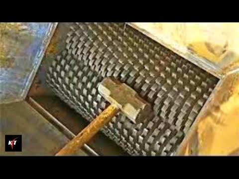 Sledge Hammer VS Crusher, What will happen?