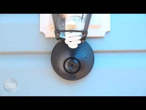 The Kuna Toucan adds a security cam to your outdoor lights